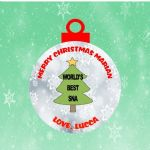 Special Needs Assistant Acrylic Christmas Ornament Decoration